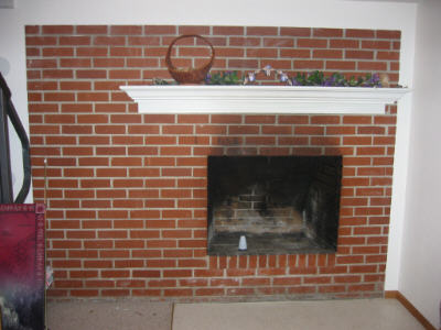 refacing a fireplace with tile.  IMG Refacing a fireplace